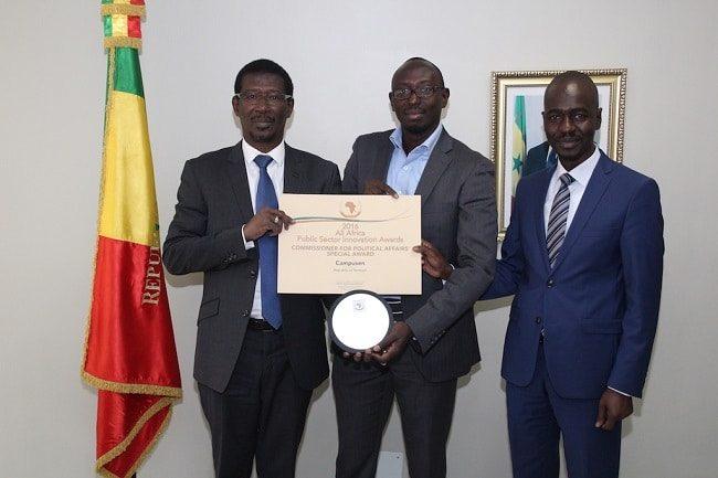 Campusen prix de l'innovation du secteur public en Afrique