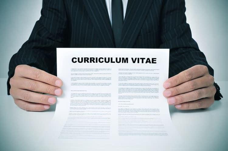 hobbies/Rédiger un Curriculum Vitae
