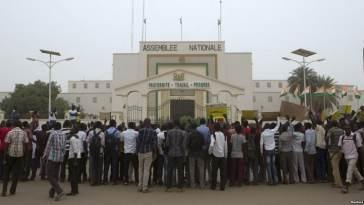 Reprise des cours à l'université de Niamey