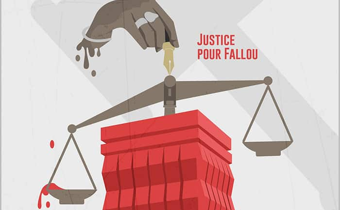 gendarme tireur/Justice pour Fallou/Décès Fallou Sène /radho et LSDH/étudiants de l'Ugb déterrent la hache de guerre/meurtrier de Fallou Sène