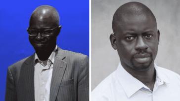Souleymane Bachir Diagne et Felwine Sarr