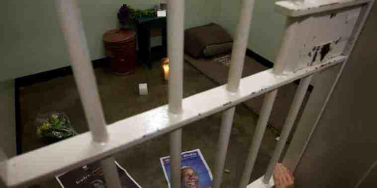 cellule de Mandela