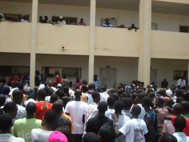 Baccalauréat 2018-Matam/épreuves du second/lycée Alboury Ndiaye/Résultats du premier tour BAC 2018