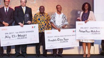 Prix de l'Innovation pour l'Afrique 2018
