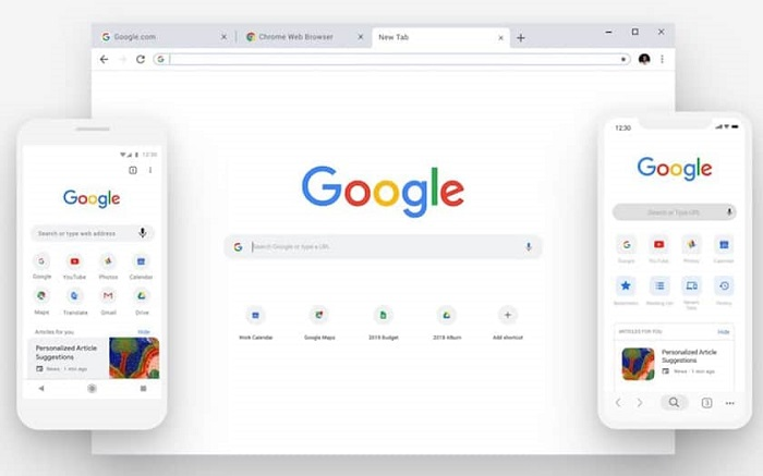 Chrome/Interface de Google Chrome