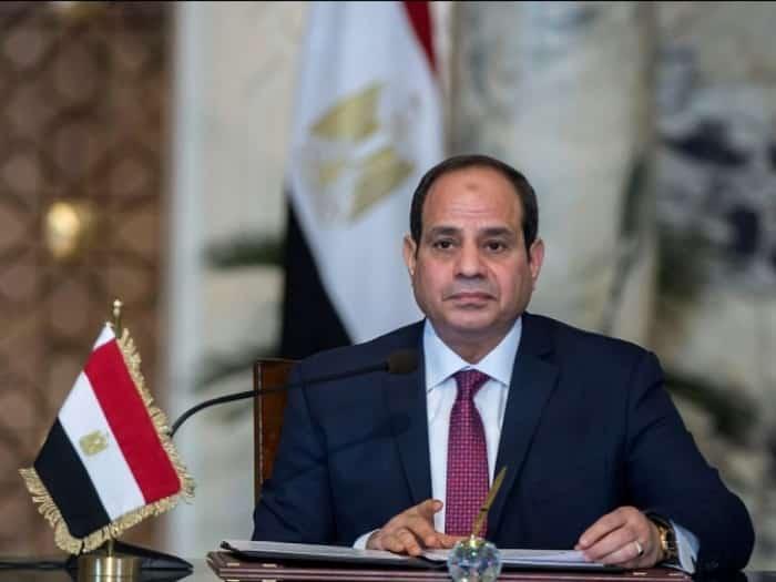 Égypte du président Abdel Fattah al-Sissi