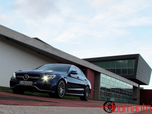 2015 Mercedes-Benz C 63 AMG S Model | Shaun Keenan