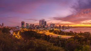 Perth City - evening