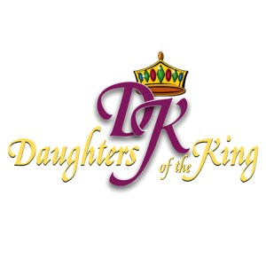 Daughters of the King ministry square for ministries and adults and women