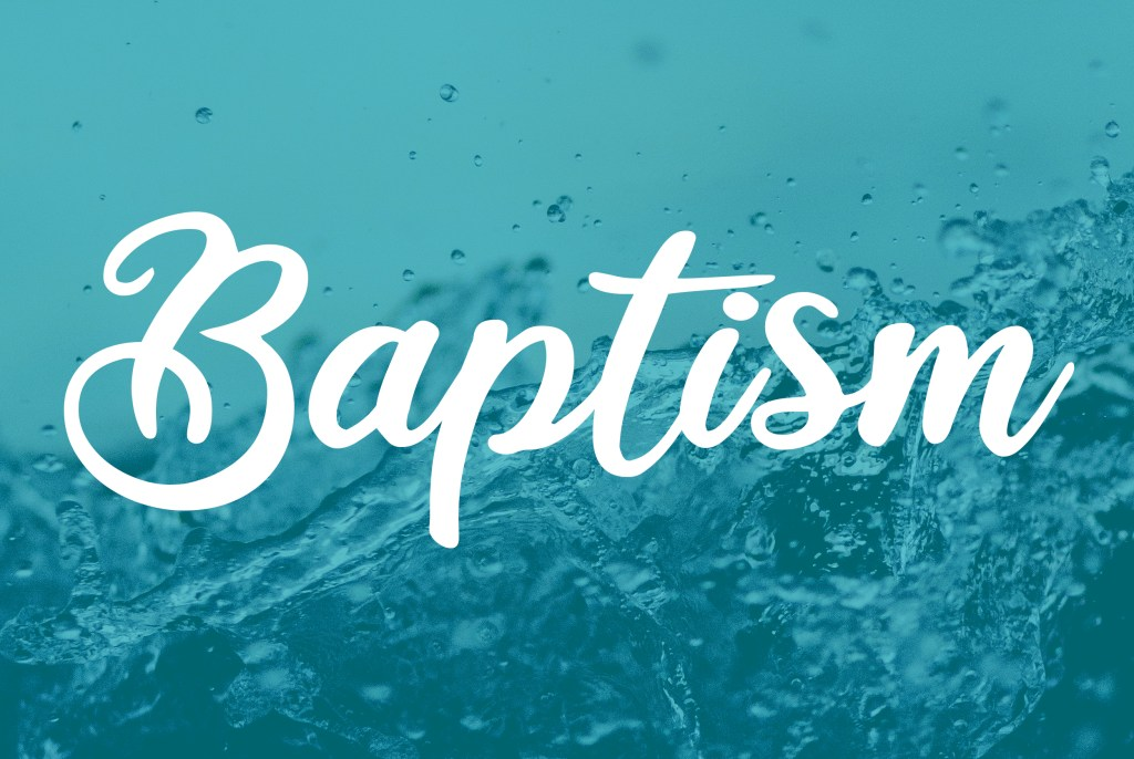 Baptism Announcement event Image
