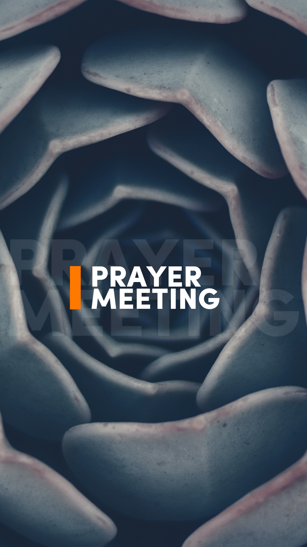 prayer meeting meetings graphic long