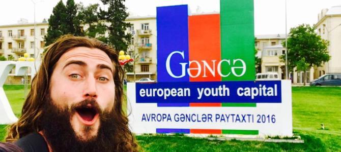 Touchdown in Ganja, Azerbaijan