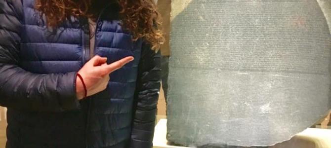 The Rosetta Stone!