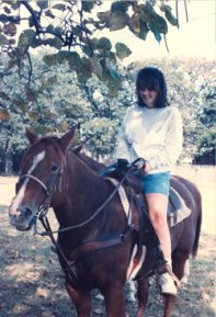 Riding in Tolar, Texas
