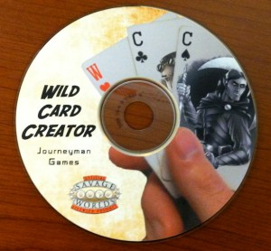 Wild Card Creator CD