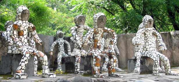 Image result for rock garden chandigarh