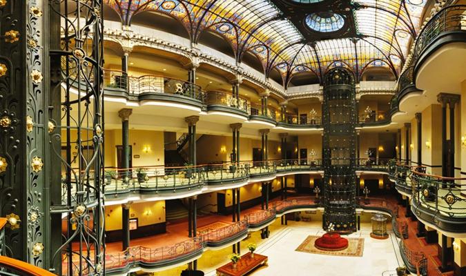 Gran Hotel Ciudad de Mexico  Mexico City  Journey Mexico