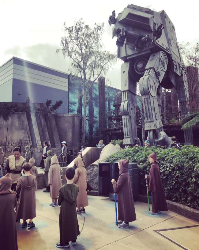 Disney World, Orlando, Florida, Hollywood Studios, Jedi Training