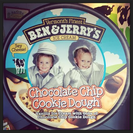 The boys at Ben & Jerry's