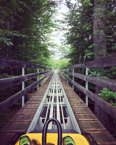 Mountain Coaster at Cranmore Mountain Resort