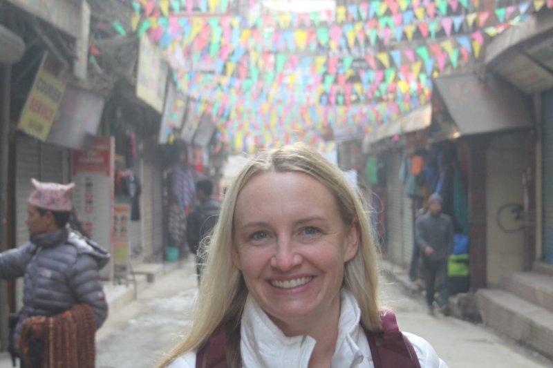 Laurence in Kathmandu, Nepal