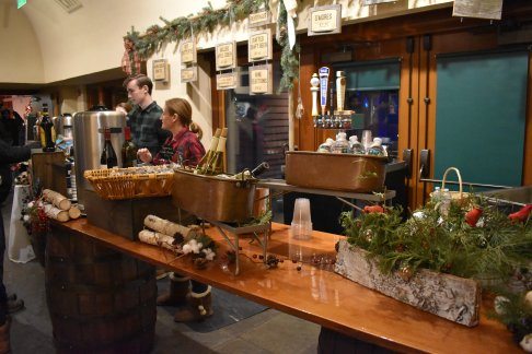 The bar at Tower Hill Night Lights