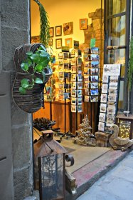 Store front in Barcelona