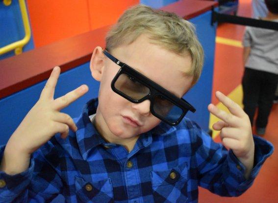 4D Movie Glasses