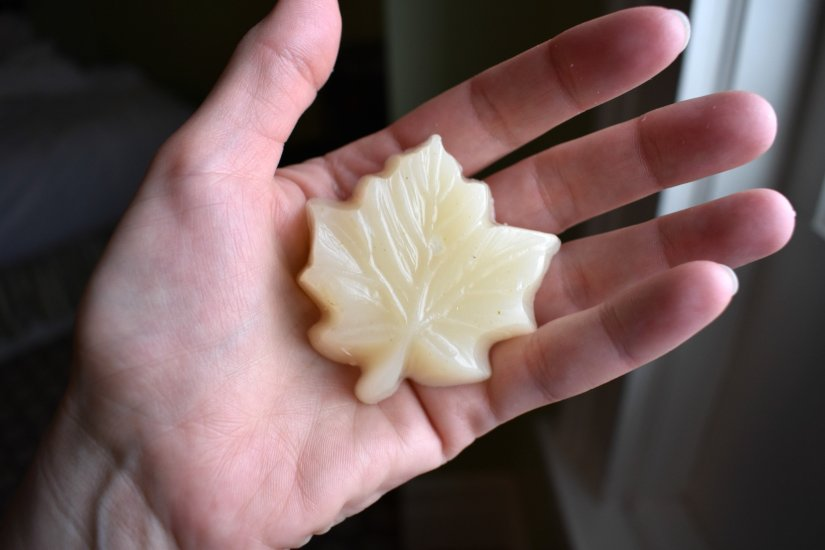 Maple soap the kids made