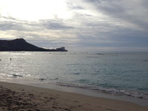 Diamond head Hawaiian Islands