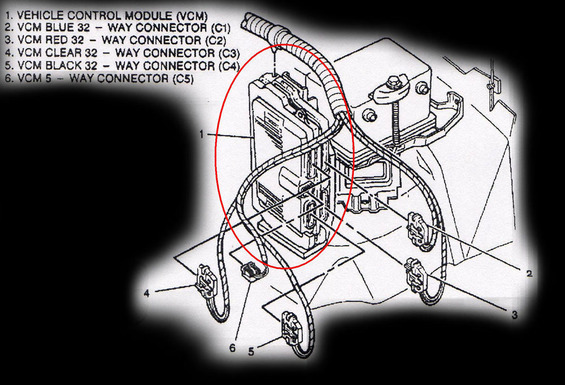 1996 Corvette Pcm Wiring Schematic