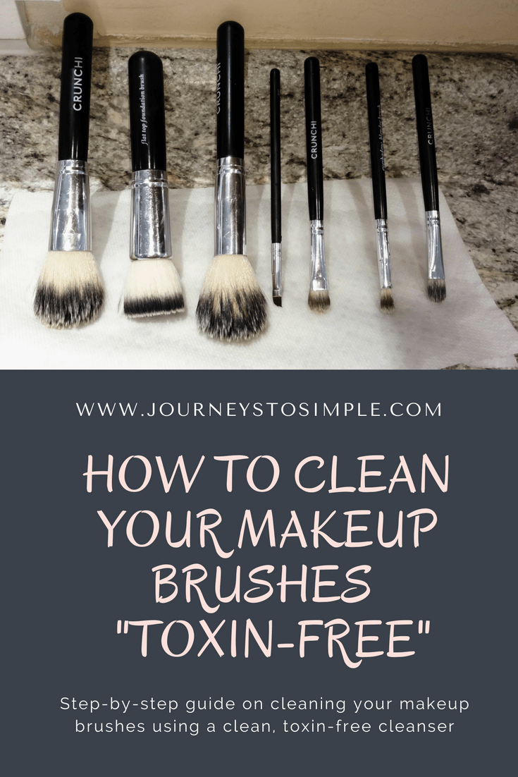 Keeping Your Makeup Brushes Clean and Toxin-Free