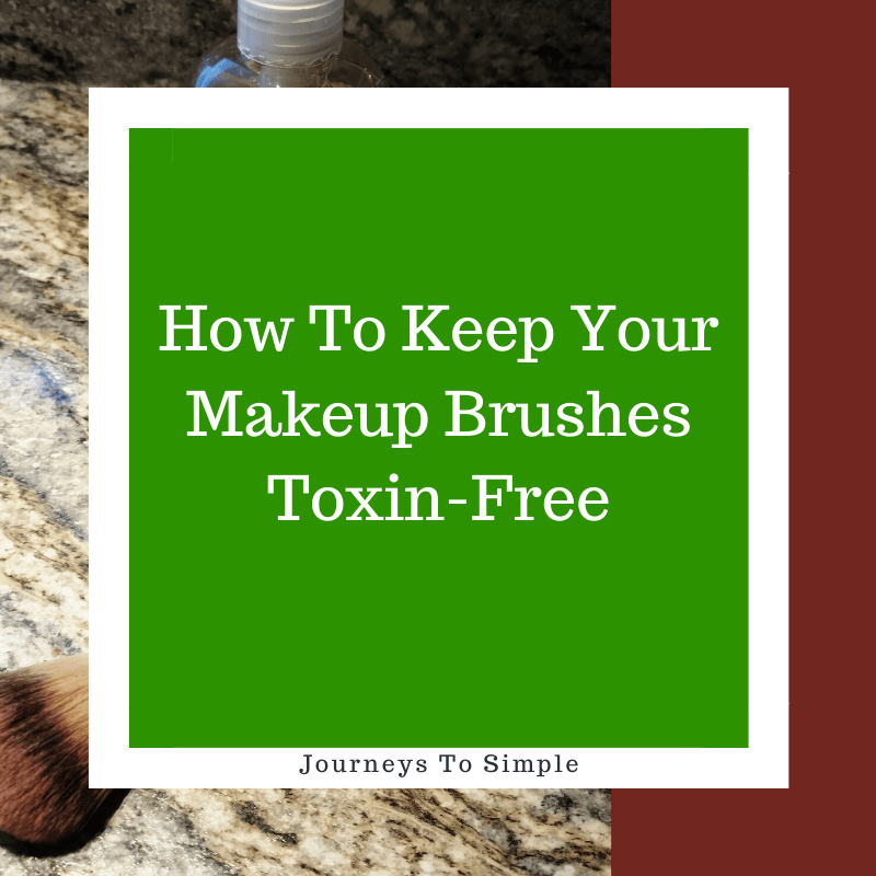 Cleaning Makeup Brushes Naturally