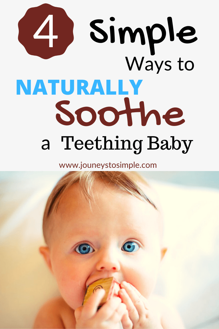 These natural teething remedies for your baby or toddler actually help to soothe baby\'s teething pain. These remedies will help your baby sleep better at night and ease the tooth pain that comes with teething. These are the best tips that have helped all 5 of my babies sleep during nighttime and be happier during the day.