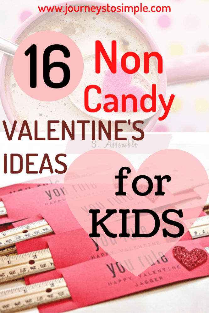 non candy Valentines ideas for kids