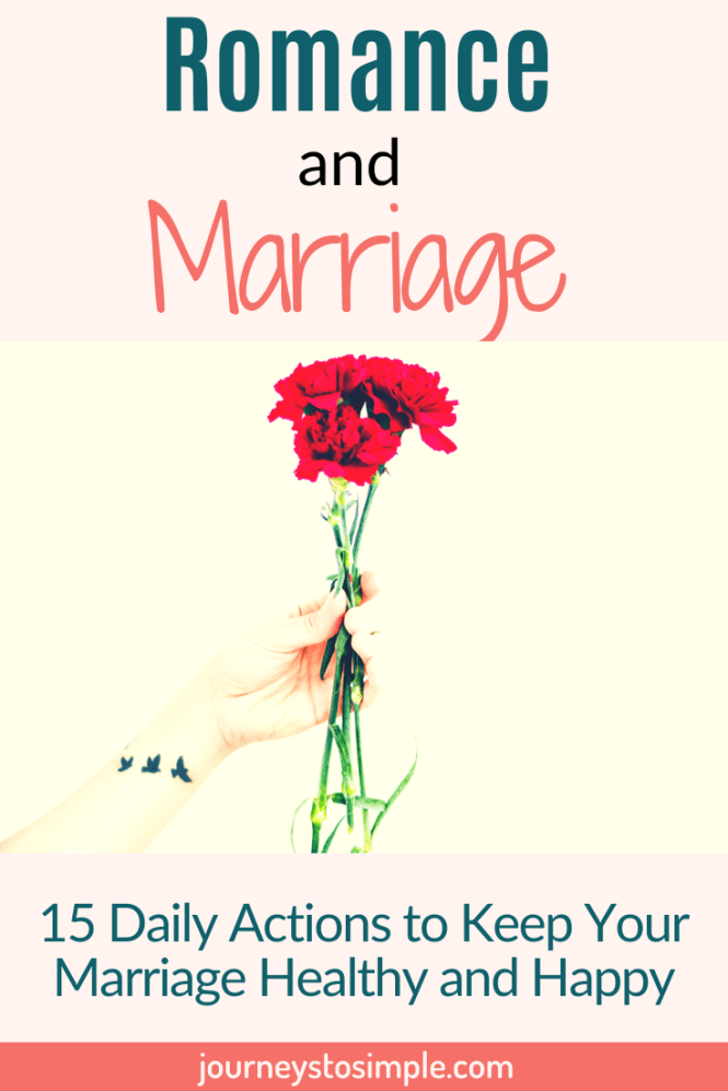 Tips for a healthy and happy marriage