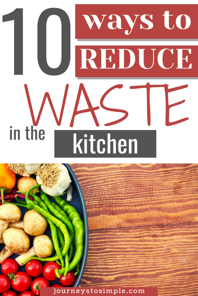 Reduce Waste in the Kitchen