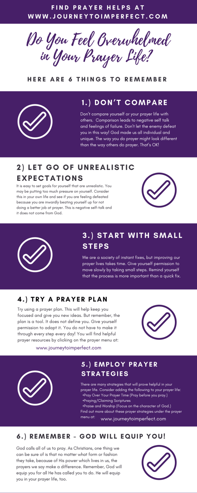 Have you ever felt overwhelmed in your prayer life? I think a lot of us do, and here are some important things to remember! Learn more here!