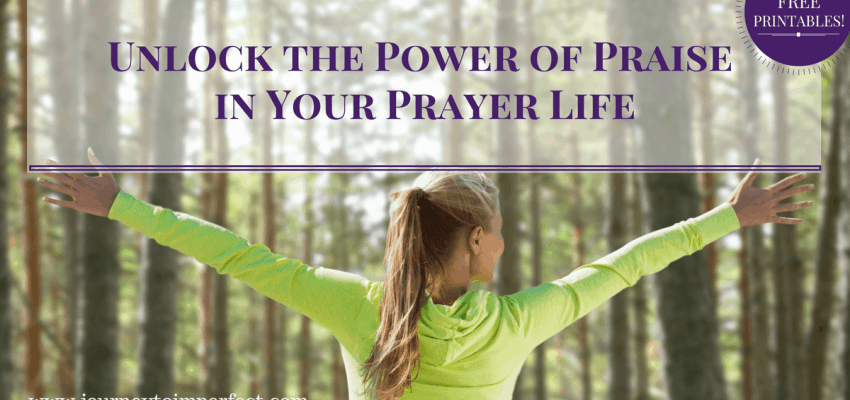 Have you ever felt like something was missing from your prayer life? It could be praise and worship. Read to learn more about unlocking the power of praise in your prayer life! {FREE PRINTABLES!}