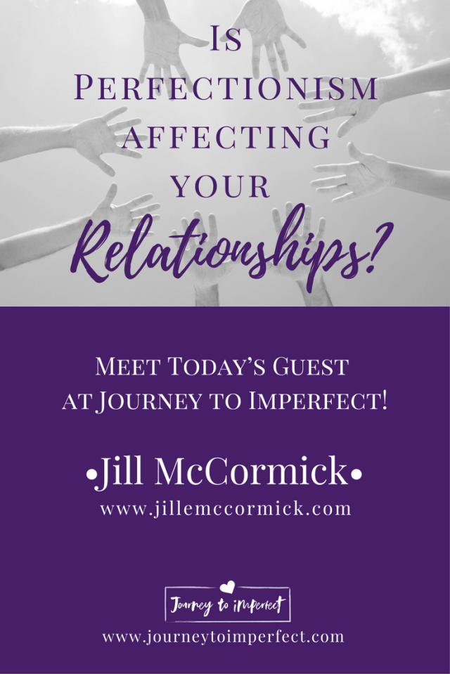 Join me today as my friend, Jill McCormick takes a look at four ways perfectionism impacts our relationships. The great thing is she doesn't just leave us holding those revelations and wondering what to do. She reminds us what God says about each one, and she gives us strategies the will help us move forward!