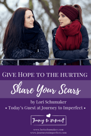 Your story has a purpose, and sharing it will make a difference in ways you can not imagine! Click through to find courage and hope for you and others in a story only you can tell!