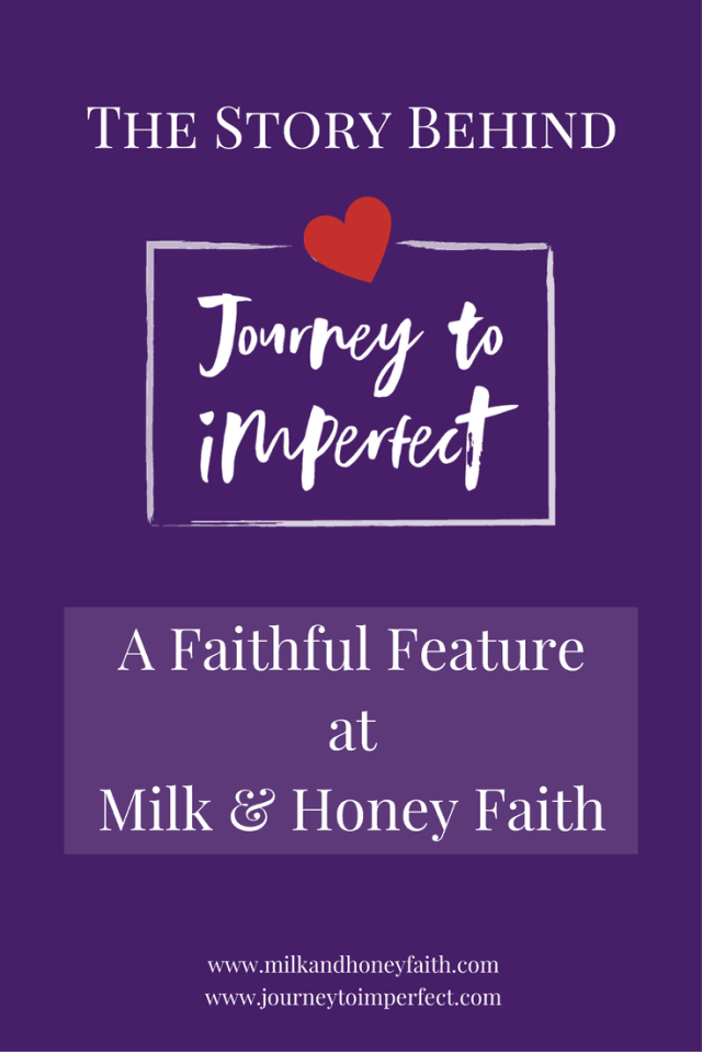 Perfectionism is real, friends, and it often remains hidden in our lives. Join me today and find out how I discovered my own problem with perfectionism. Then join me at Journey to Imperfect where you'll discover God's love and grace for help in overcoming it.