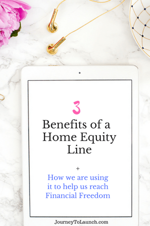 Benefits of Home Equity Line
