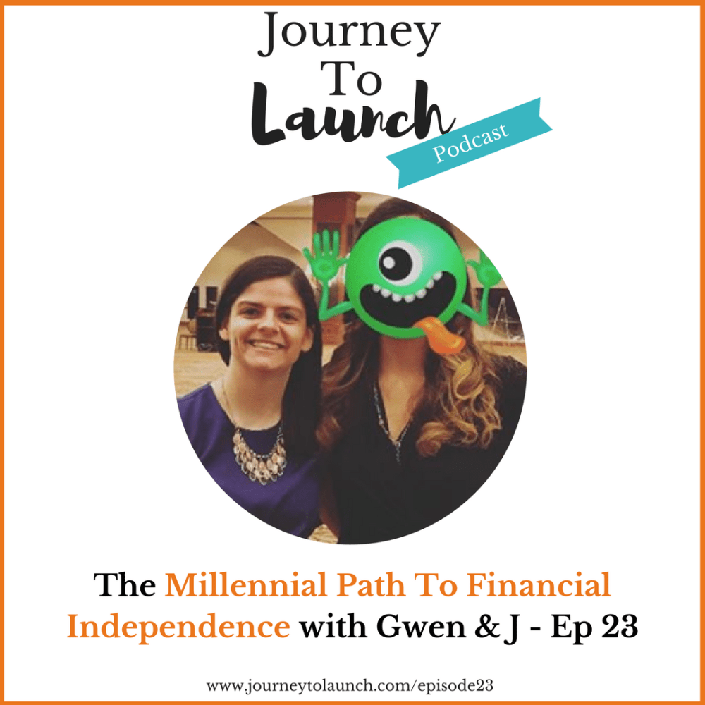 Episode 23- The Millennial Path To Financial Independence with Gwen & J From The Fire Drill Podcast