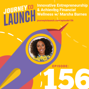 Episode 156- Innovative Entrepreneurship & Achieving Financial Wellness w/ Marsha Barnes