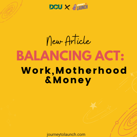 Balancing act - Work, Motherhood & Money