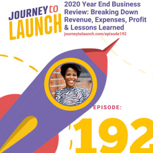 2020 Year End Business Review: Breaking Down Revenue, Expenses, Profit & Lessons Learned