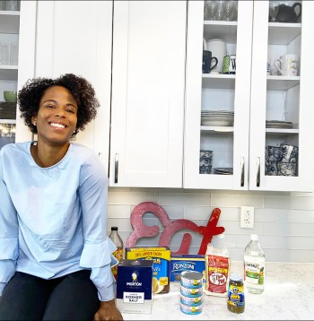 jamila in kitchen