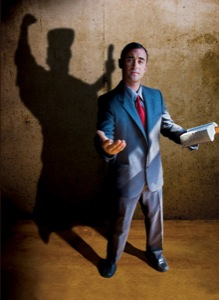 shadow of a Pharisee
