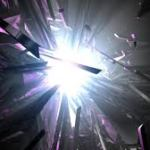 explosion of light